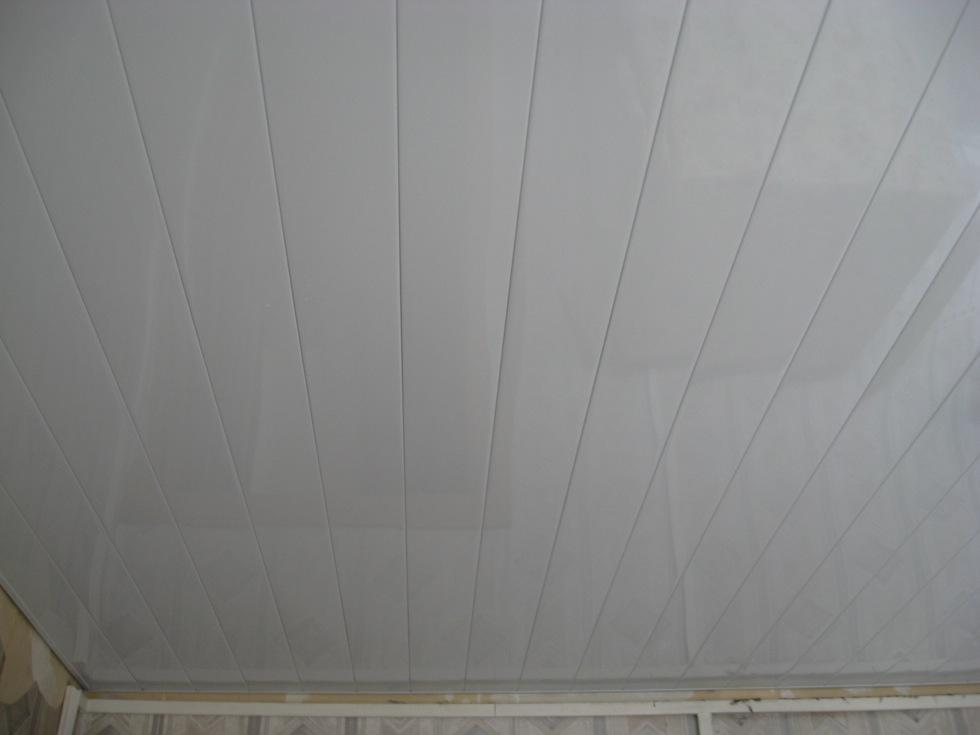 Реечный потолок 150 мм без вставки