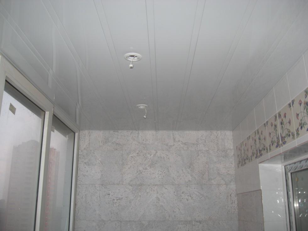 Реечный потолок 150 мм со вставкой 25 мм